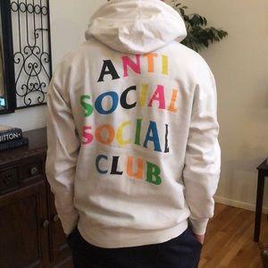 ANTI SOCIAL SOCIAL CLUB HOODIE SZ MEDIUM